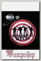 Нашивка The Beatles Help
