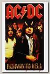 Наклейка-стикер Rock Merch AC DC Highway To Hell