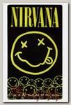 Наклейка-стикер Rock Merch Nirvana
