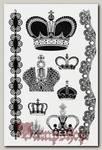Переводная татуировка Короны