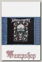 Нашивка Megadeth 13