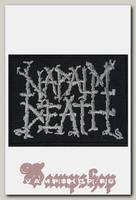 Нашивка RockMerch Napalm Death