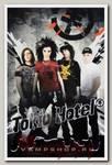 Плед Tokio Hotel