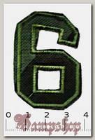 Термонашивка цифра 6 и 9