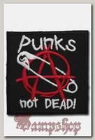 Термонашивка Punks not dead