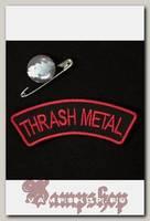 Нашивка Trash Metal