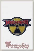 Нашивка Megadeth