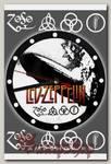 Часы настенные RockMerch Led Zeppelin