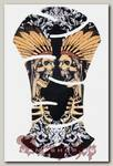 Наклейка-стикер Два шамана