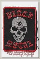 Термонашивка Black Metal
