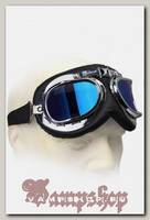 Ретро-очки Авиатор синие