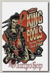 Наклейка-стикер King Of Fools