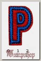 Термонашивка буква P