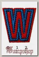 Термонашивка буква W