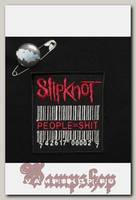 Нашивка Slipknot People Equal Shit