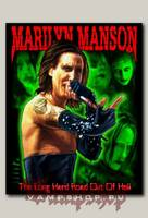 Нашивка Marilyn Manson Long Hard Road out of Hell
