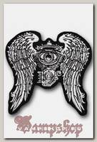 Термонашивка Движок с крыльями