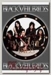 Часы настенные RockMerch Black Veil Brides