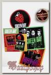 Набор стикеров RockMerch Green Day