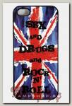 Чехол RockMerch для Apple iPhone Sex and Drugs and Rock n Roll