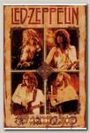Магнит RockMerch Led Zeppelin