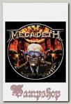 Наклейка-стикер Rock Merch Megadeth