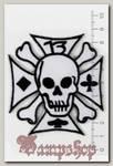 Термонашивка Железный крест с Роджером