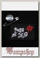 Нашивка Punks not Dead