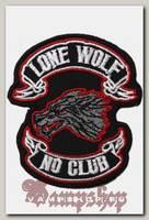 Термонашивка Lone wolf no club