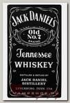 Наклейка-стикер Rock Merch Jack Daniels