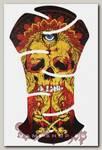 Наклейка-стикер Череп с глазом во лбу