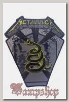 Нашивка Metallica The Black Album