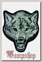 Термонашивка Зеленоглазый серый волк