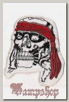 Термонашивка Череп пирата
