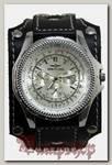 Часы наручные Breitling с кожаным браслетом