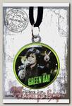 Кулон RockMerch Green Day Билли Джо