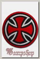 Термонашивка Мальтийский крест