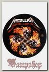 Коврик для мыши RockMerch Metallica черепа