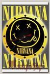 Часы настенные RockMerch Nirvana