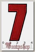 Термонашивка цифра 7
