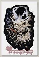 Термонашивка Череп в паутине