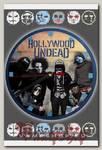 Часы настенные RockMerch Holliwood Undead