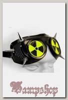 Кибер-очки гогглы с 6 шипами