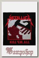 Нашивка Metallica Kill Em All