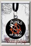 Кулон RockMerch Punks not Dead