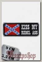 Термонашивка Kiss My Rebel Ass