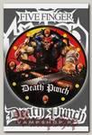 Часы настенные RockMerch 5 Finger Death Punch