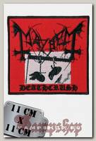 Нашивка Mayhem