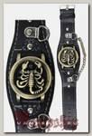 Часы наручные с крышкой Скорион с Цепочкой