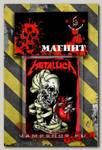 Магнит RockMerch Metallica Heart explosive
